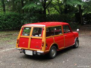 1964年式Austin MINI Countryman Mk-I