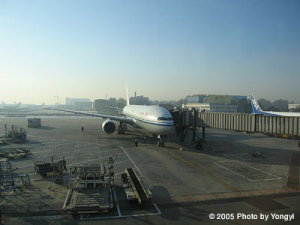 北京首都空港 CA925便