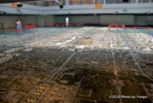 北京市計画博覧館にて